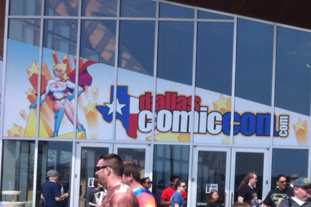 Reporting From The Dallas Comic-Con (With Matt Sawyer)