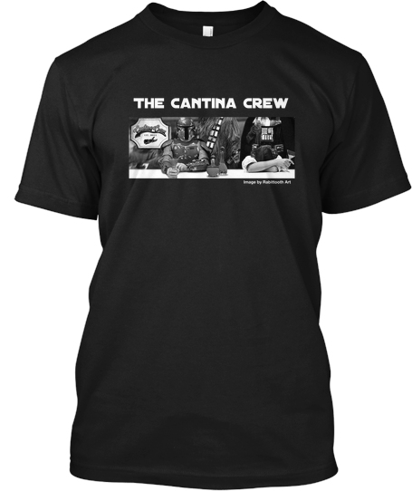 Cantina Crew Shirts for The American Red Cross