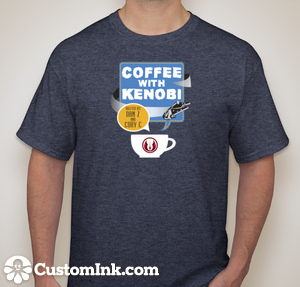 Coffee With Kenobi T-Shirts available for $16.00 (including shipping)